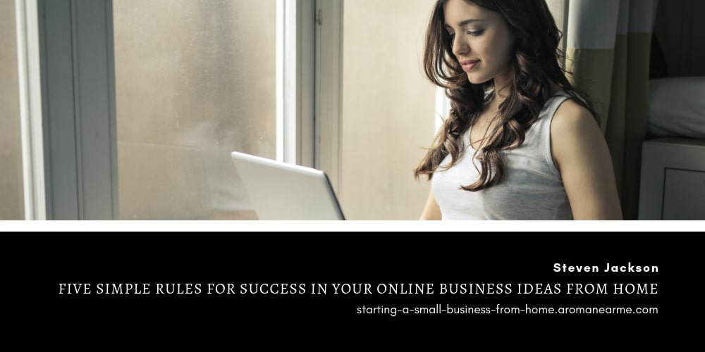 Online business ideas from home