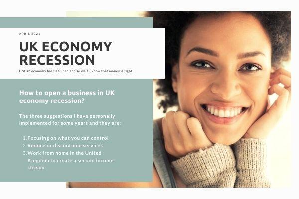 UK economy recession