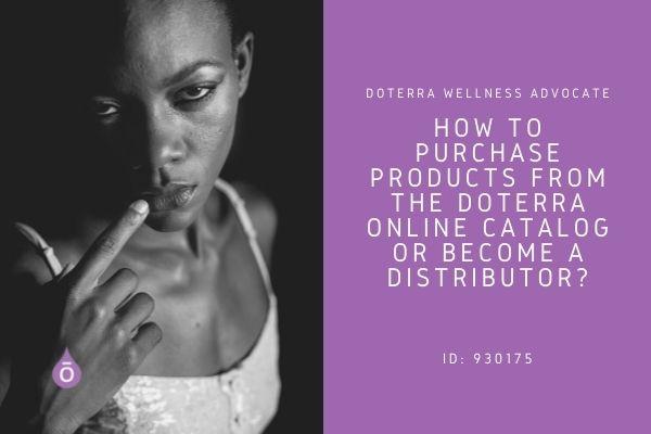 doTERRA online catalog