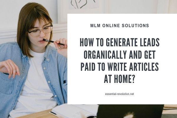 How to generate leads organically