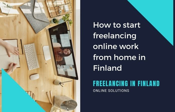 Freelancing online work from home
