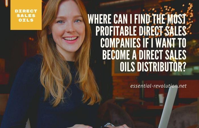 Most profitable direct sales companies