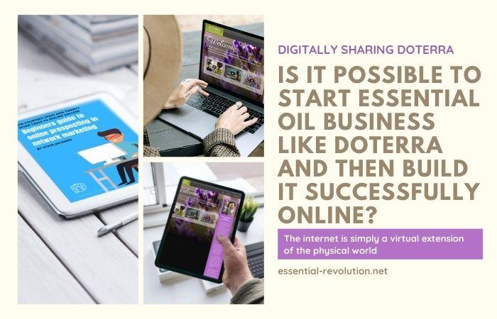 Start essential oil business